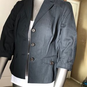 Banana Republic Cotton Linen Jacket